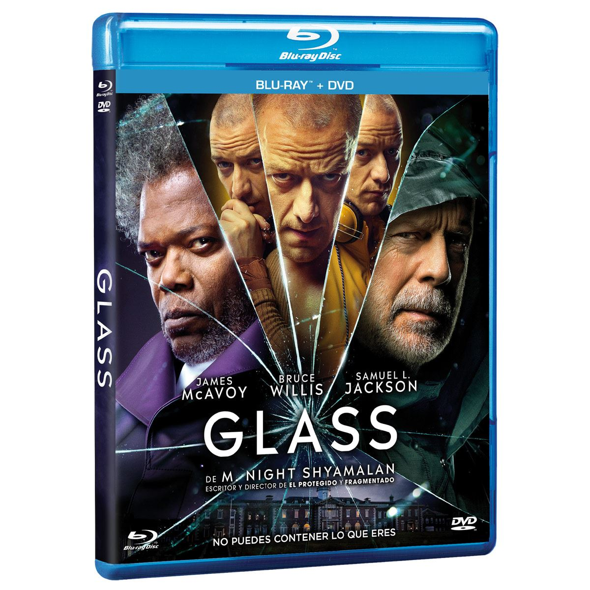 BR/DVD Glass Combo