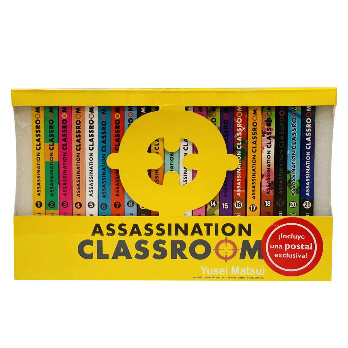 Paquete  Assassination Classroom