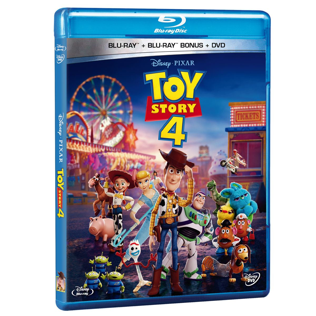 Blue-Ray + DVD Toy Story 4
