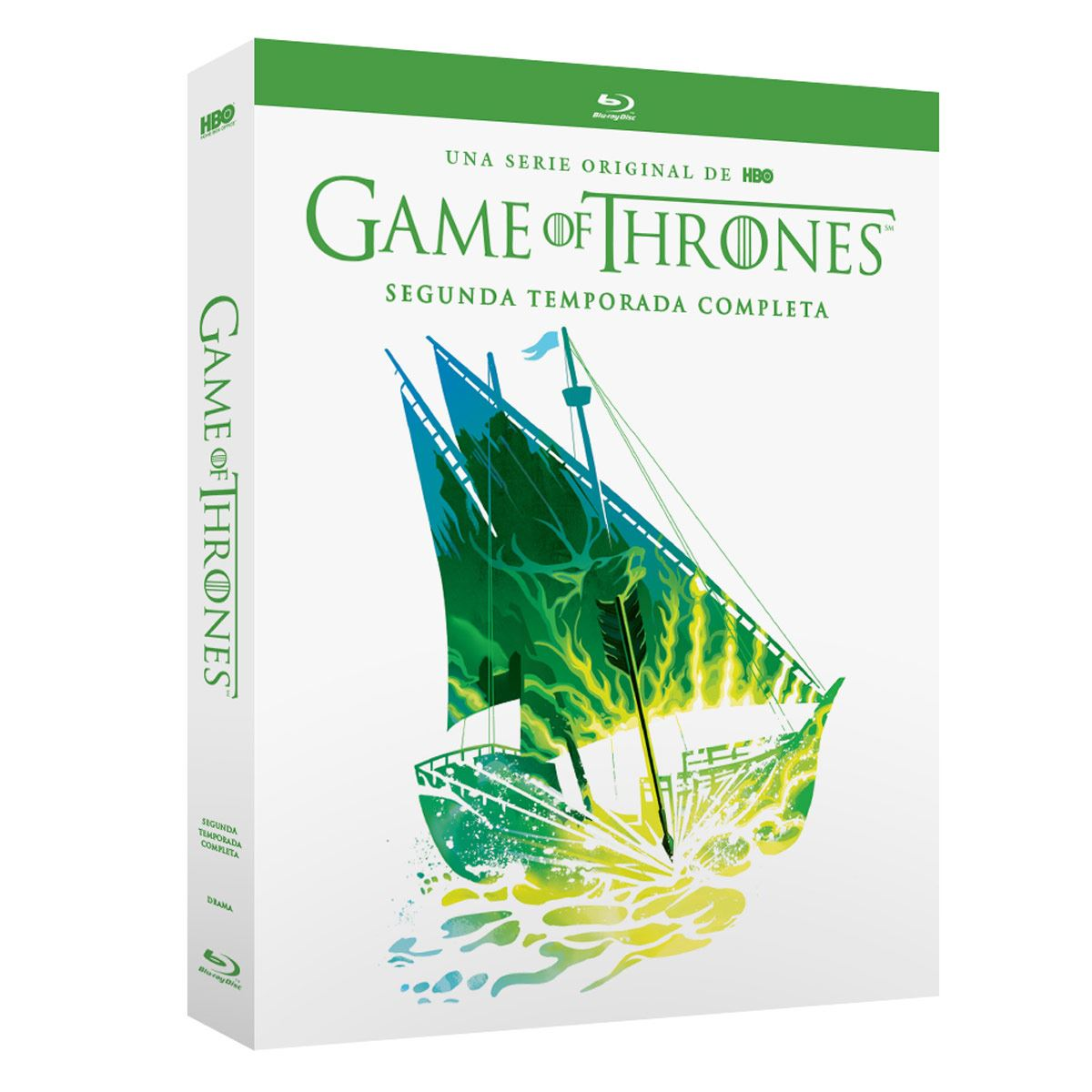 Blu Ray Game Of Thrones Temporada 2