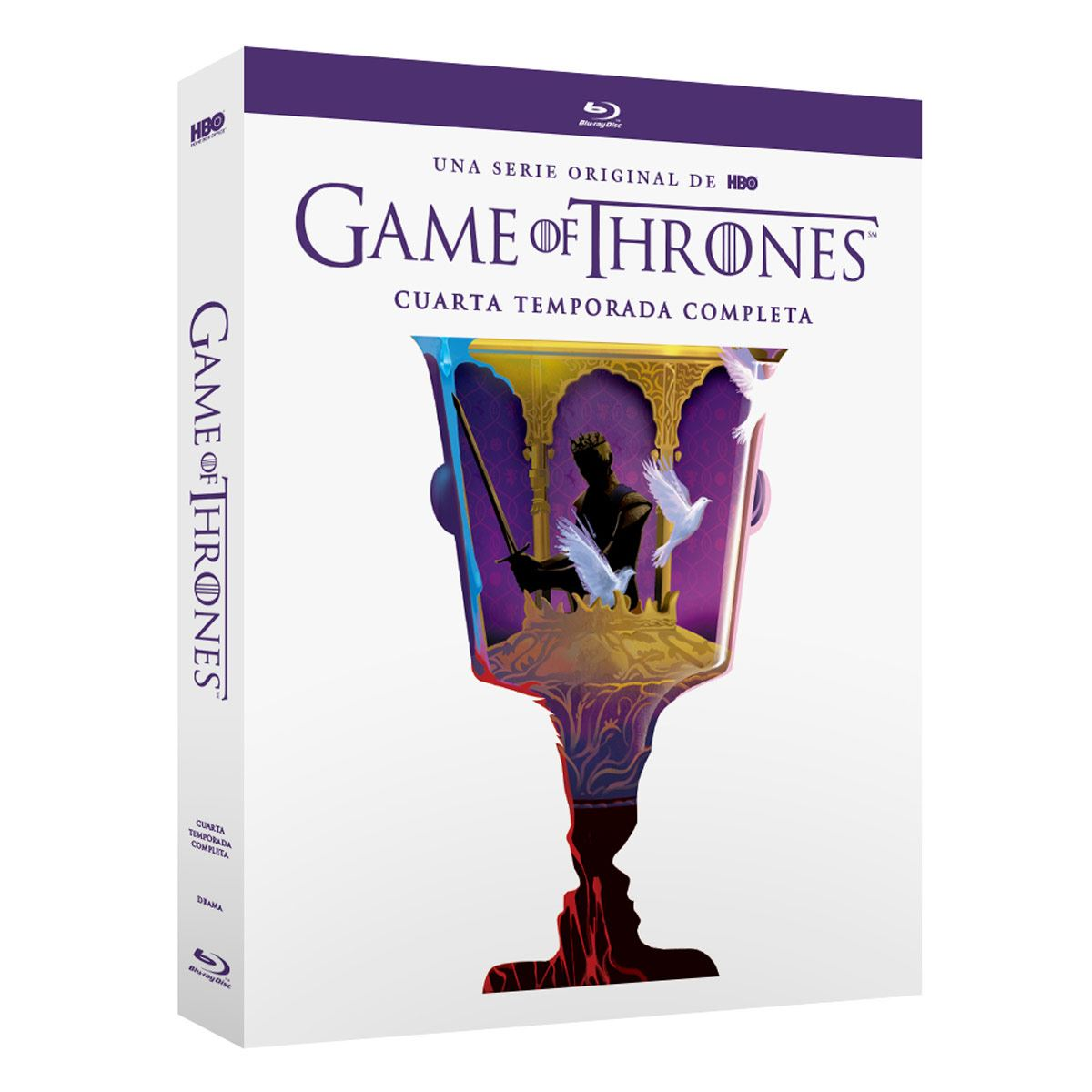 Blu Ray Game Of Thrones Temporada 4