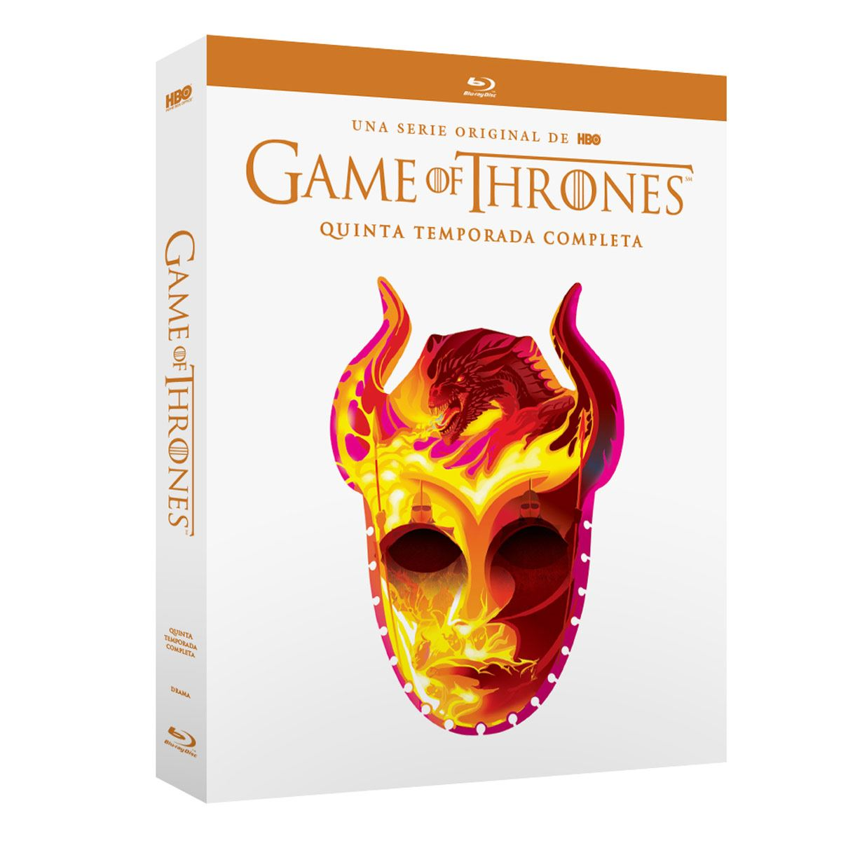 Blu Ray Game Of Thrones Temporada 5