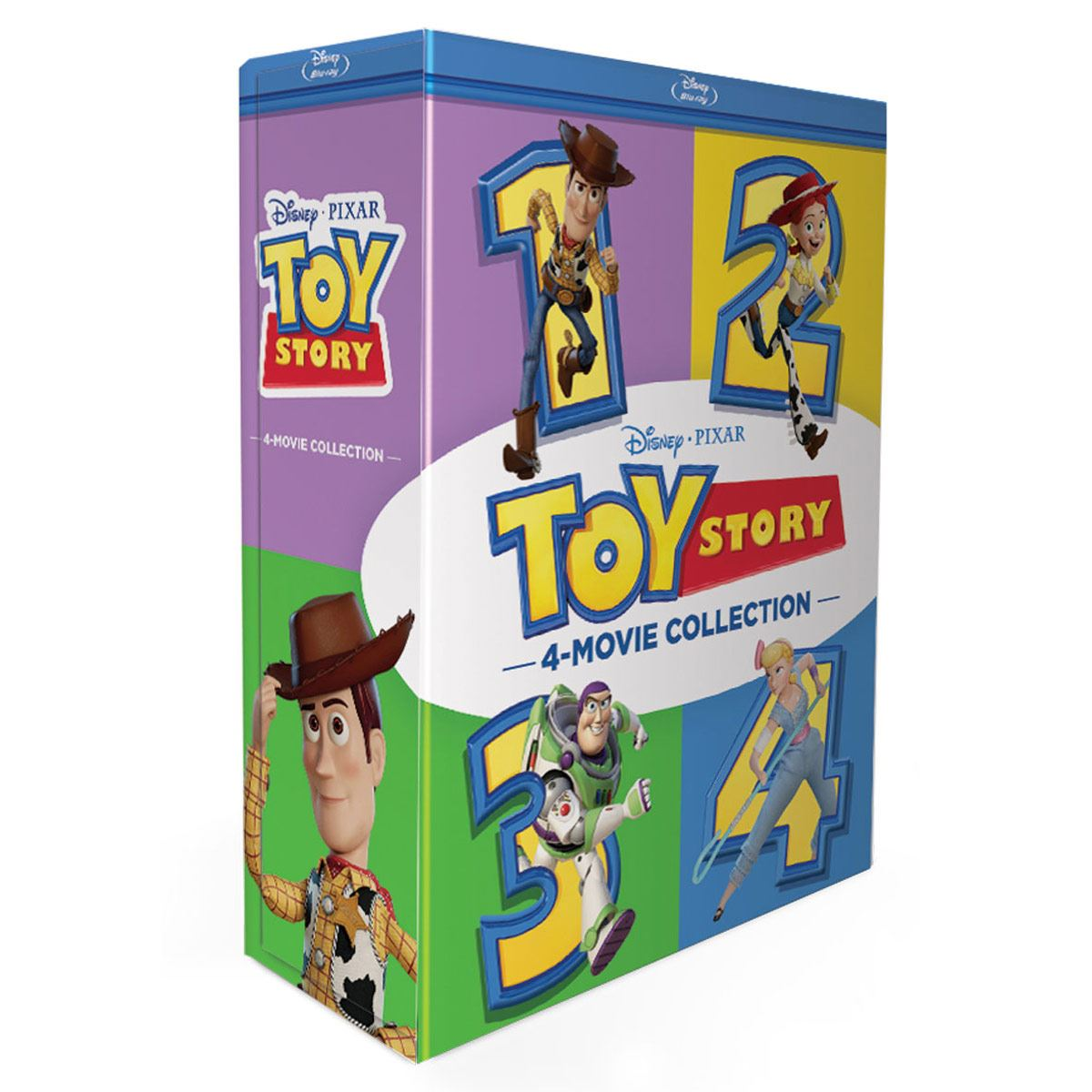 Blu Ray Paquete Toy Story
