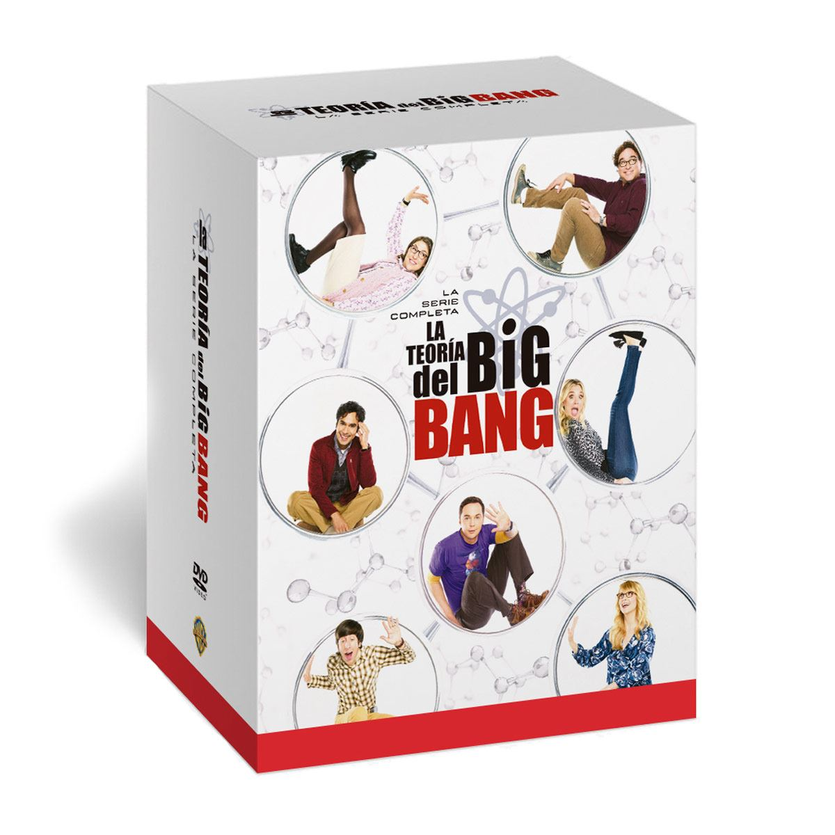 DVD The Big Bang Theory Todas las Temporadas