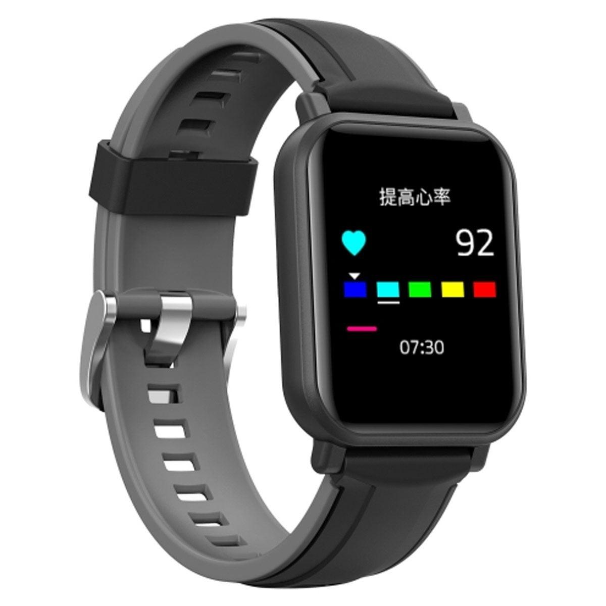 Reloj Smartwatch Zeta con GPS y Función Sport Negro