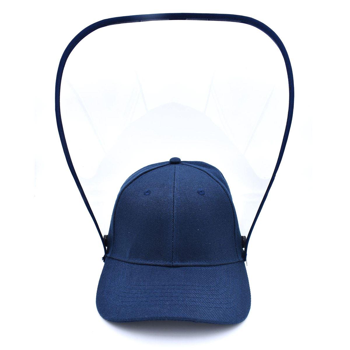 Gorra con careta para adulto azul marino