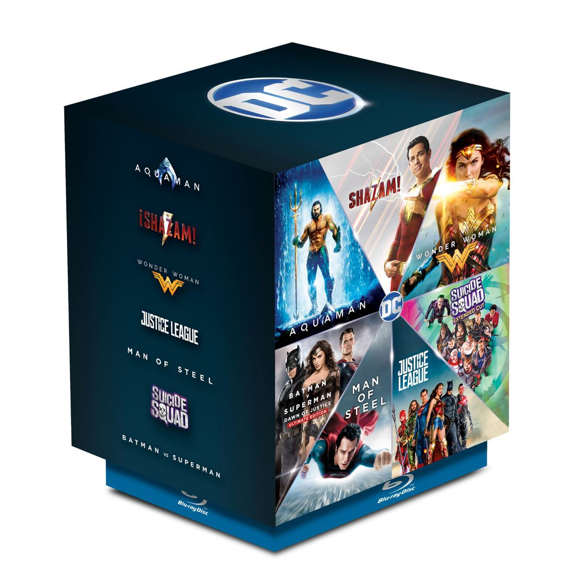 BluRay Paquete DC Heroes
