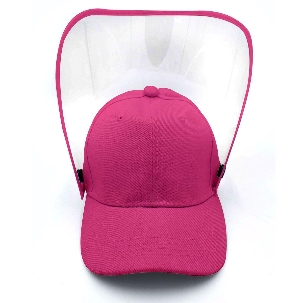 Gorra con careta infantil rosa (fiusha)