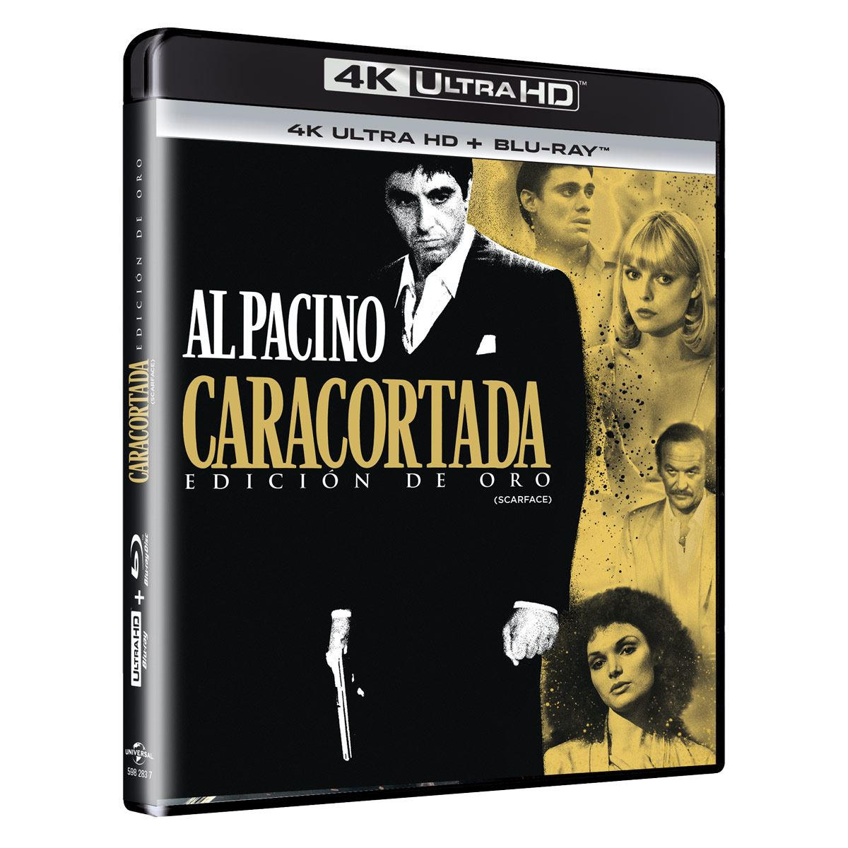4K Caracortada Gold Edition