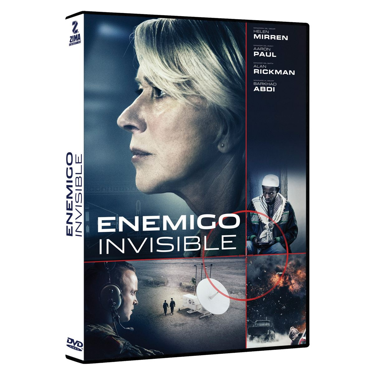 Dvd enemigo invisible  - Sanborns
