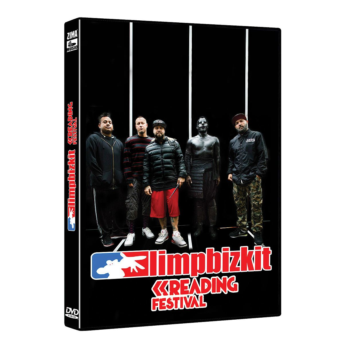 Dvd limp bizkit - reading festival  - Sanborns