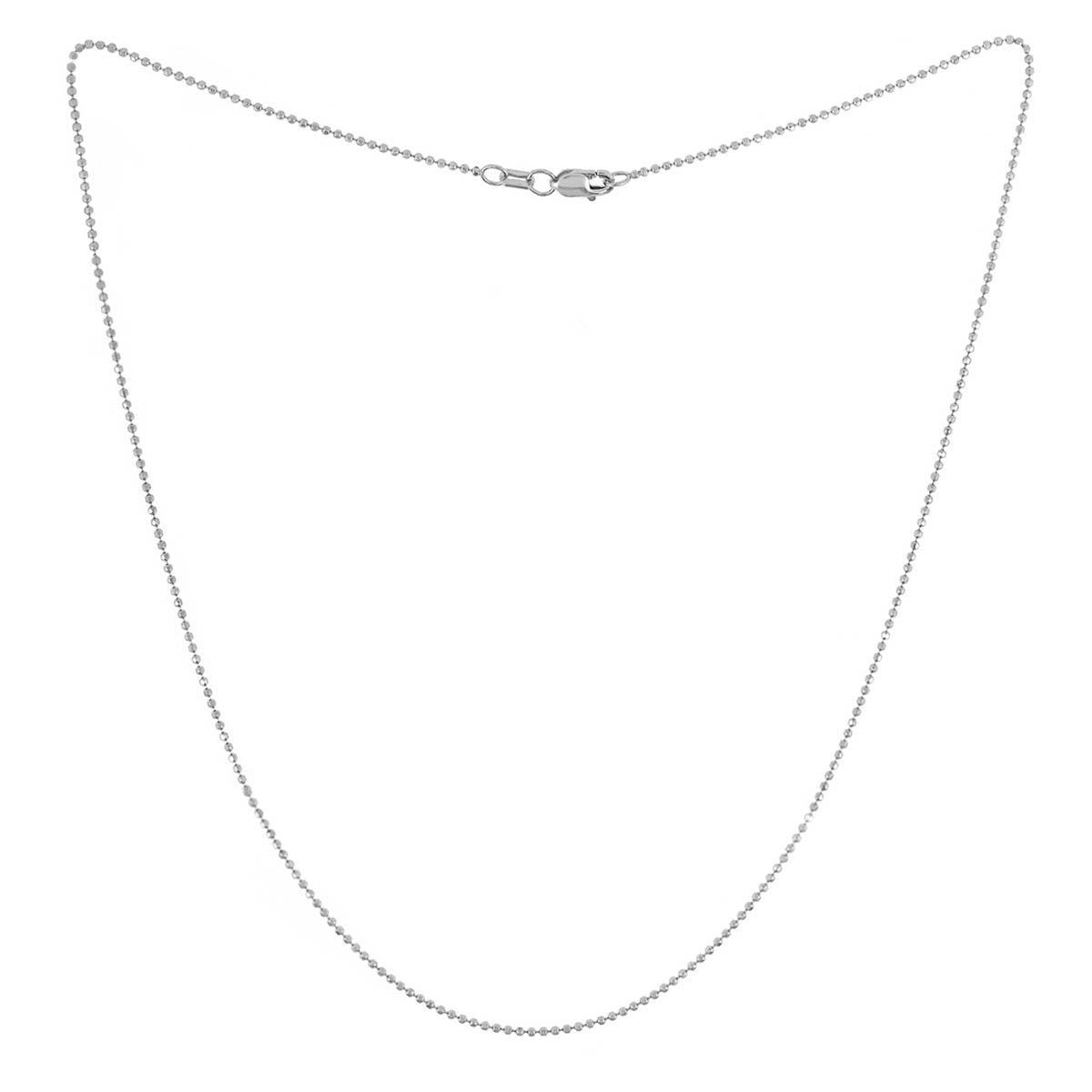 Cadena Bolitas 120 Diamantada