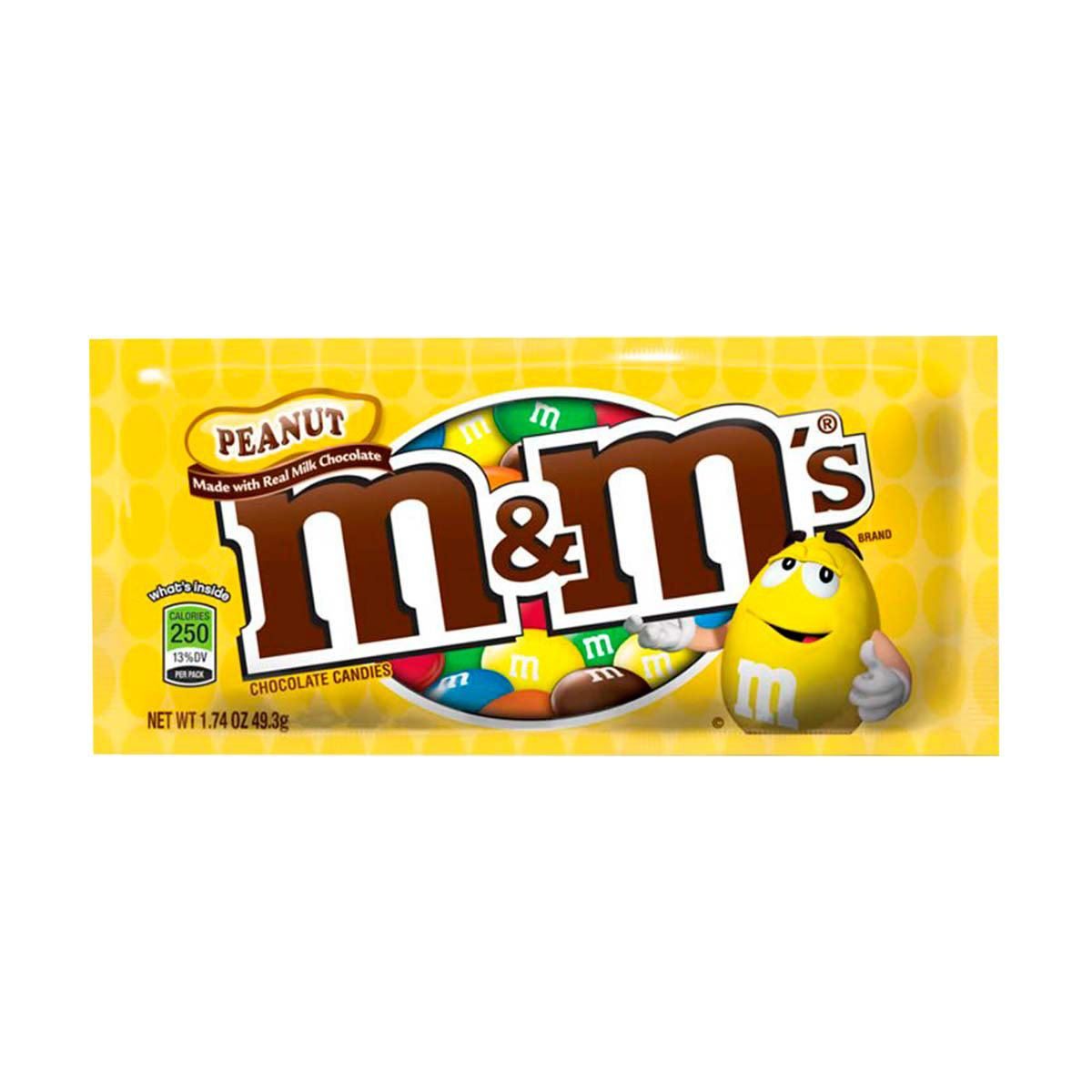 Chocolate M&M's con Cacahuate 49.3g