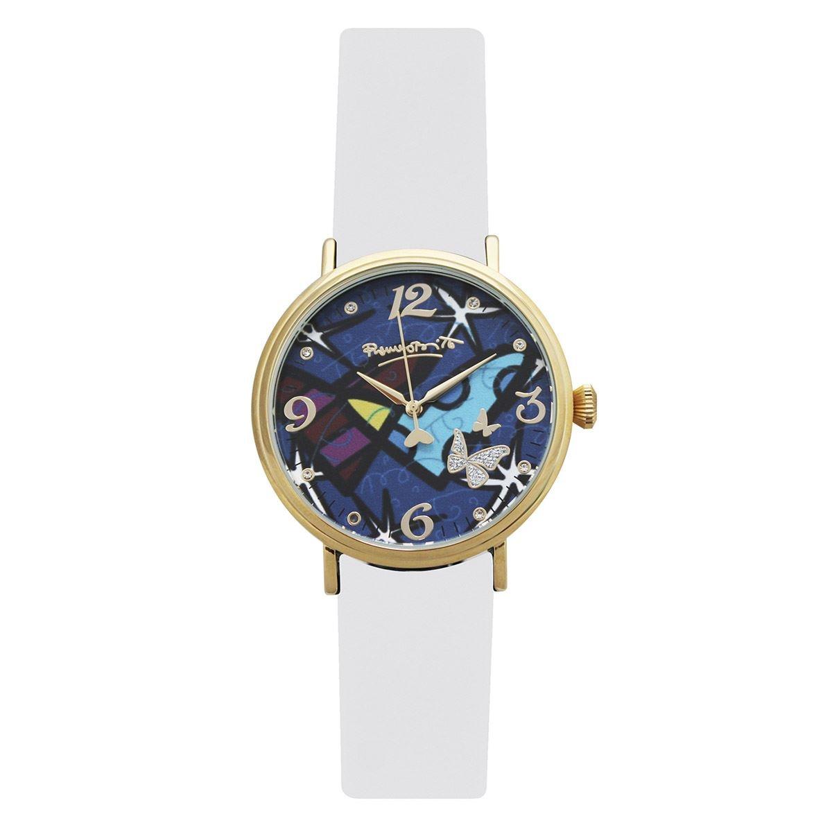 Reloj romero britto arbcs01bl dama  - Sanborns