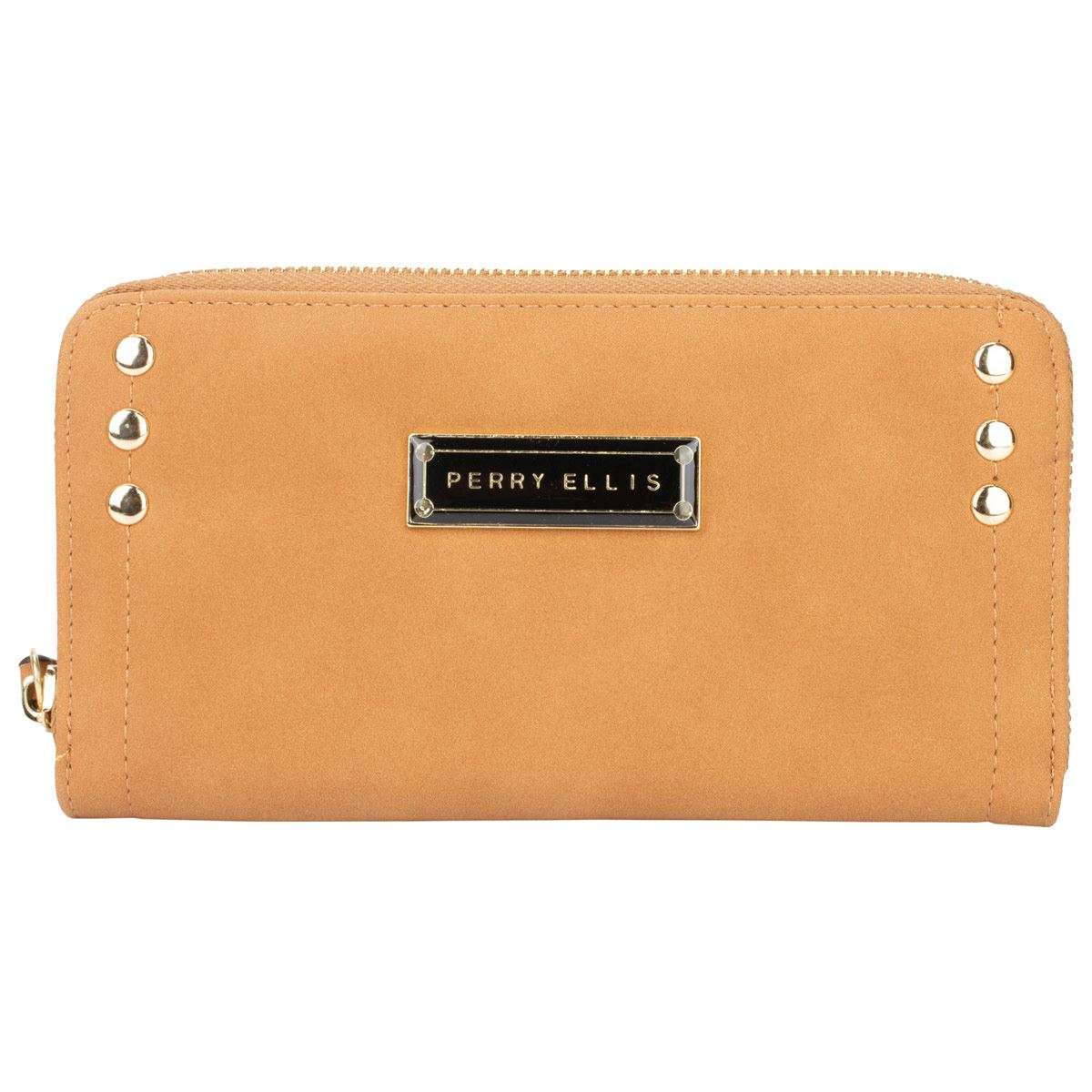 c9ba26e81 Cartera Perry Ellis zip around
