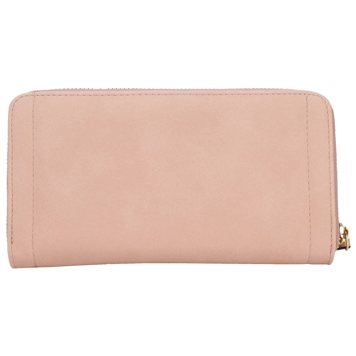 f6e064539 Cartera Perry Ellis zip around rosa