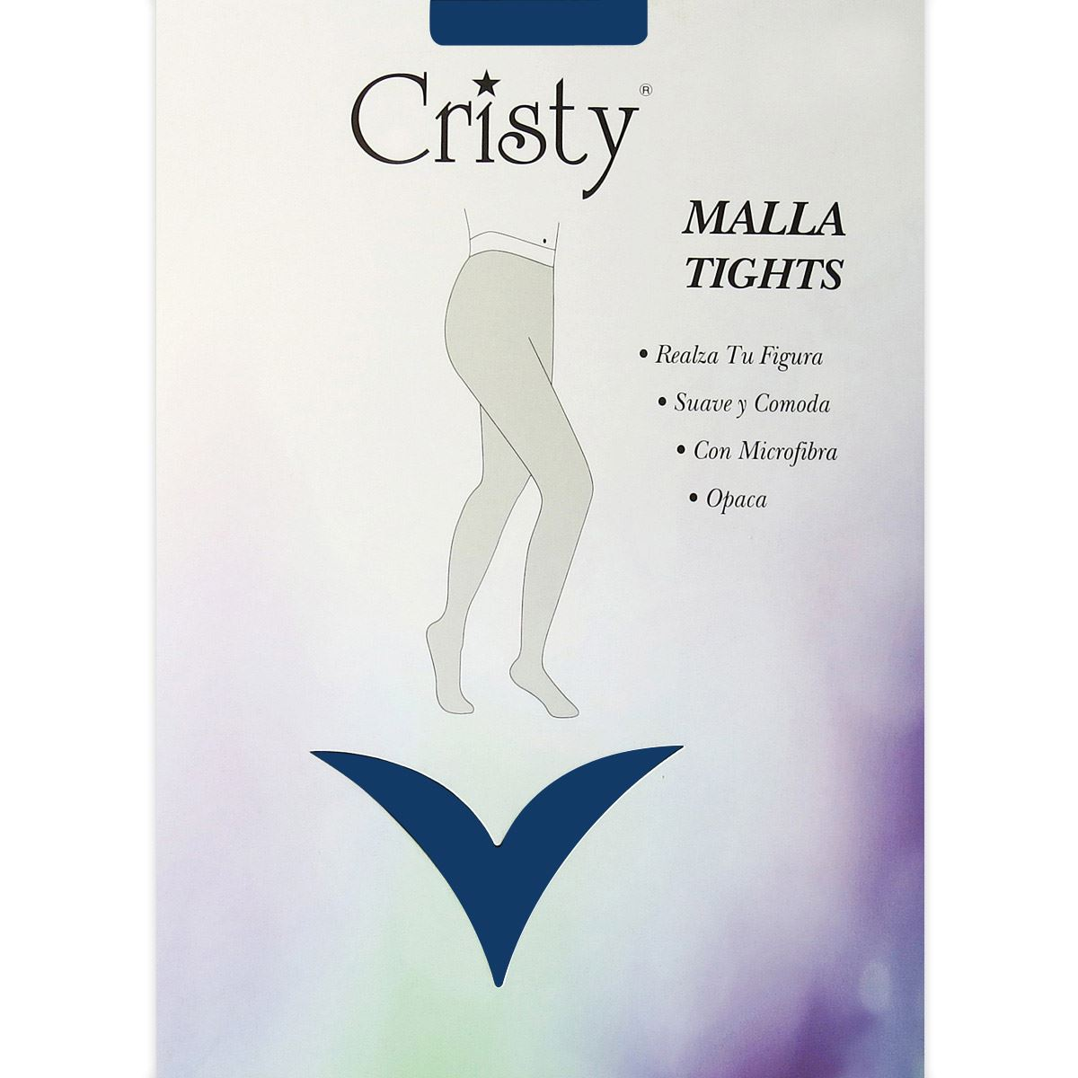 Malla Tights Color Azul CH-M