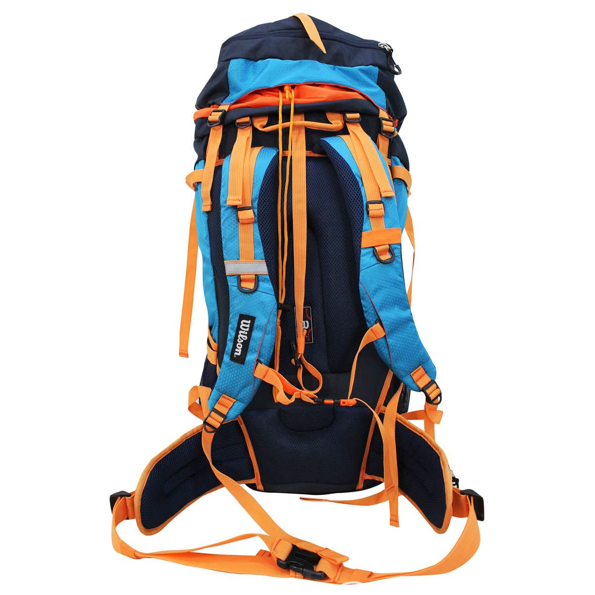 Camping bag ie-15104 blue/orange  - Sanborns