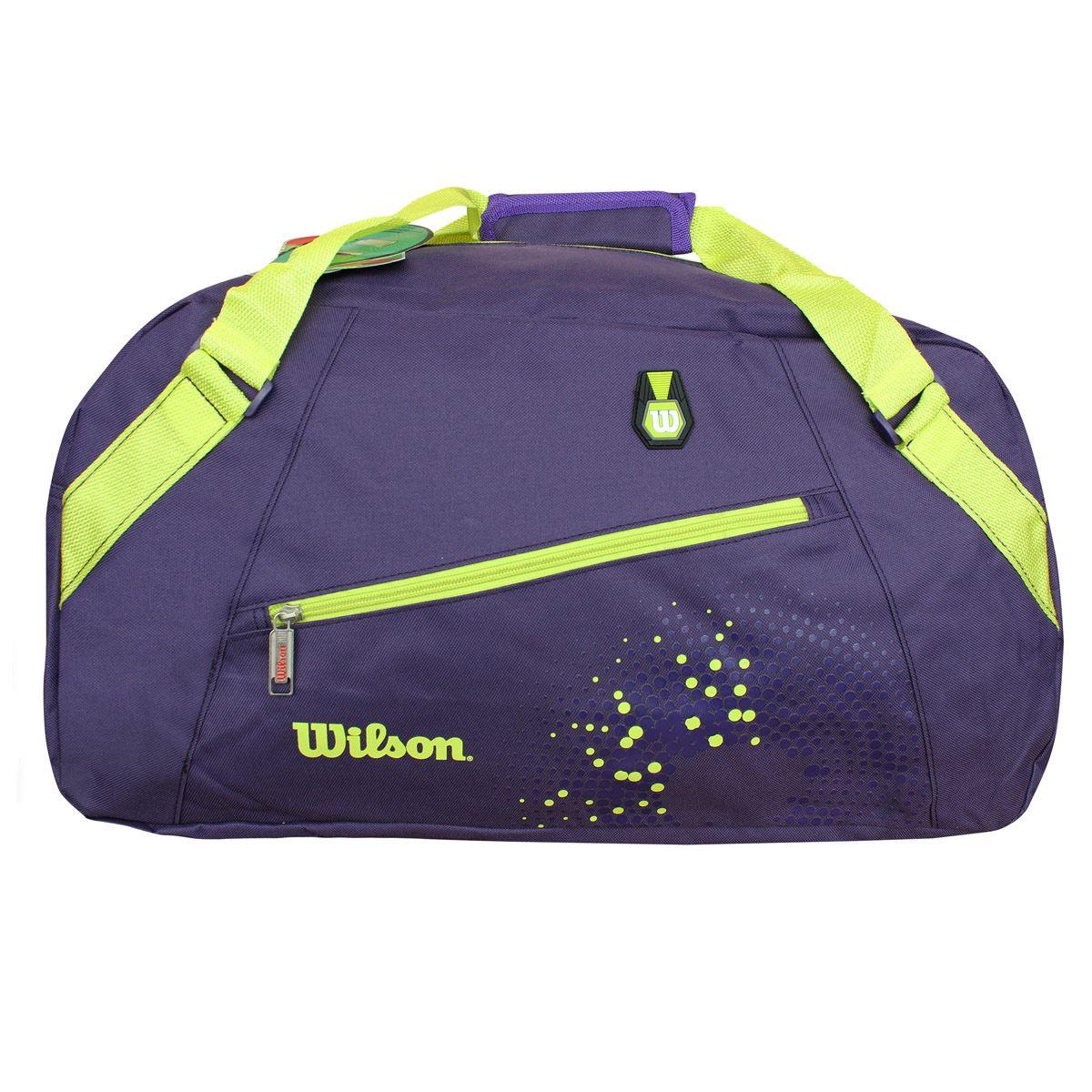 Maleta Deportiva Wilson Is-15321 Violeta Verde