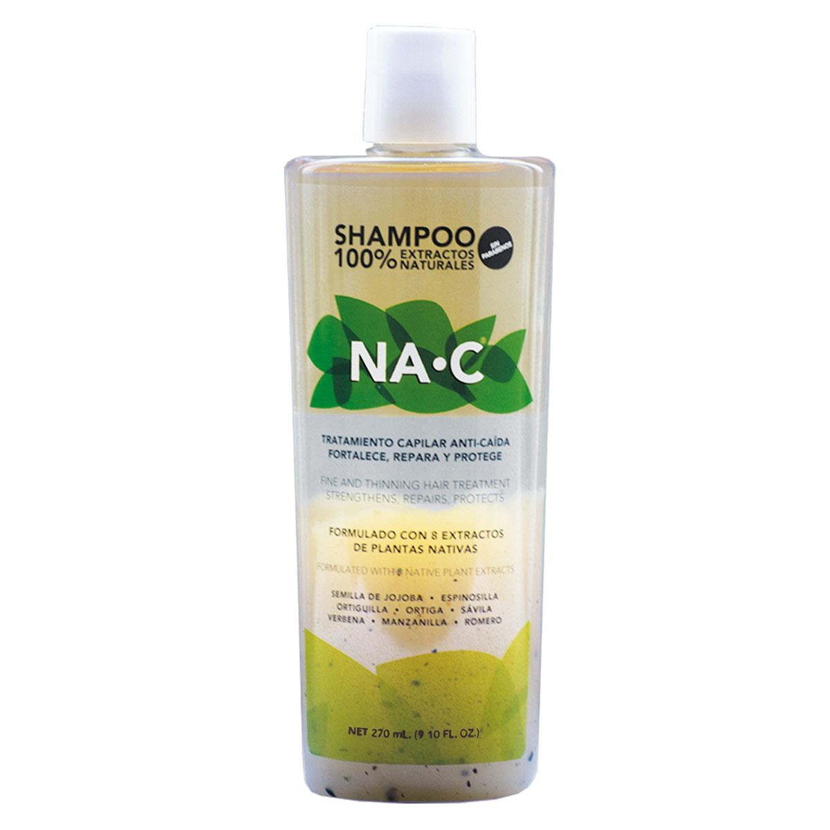Shampoo na-c anticaída 270 ml  - Sanborns