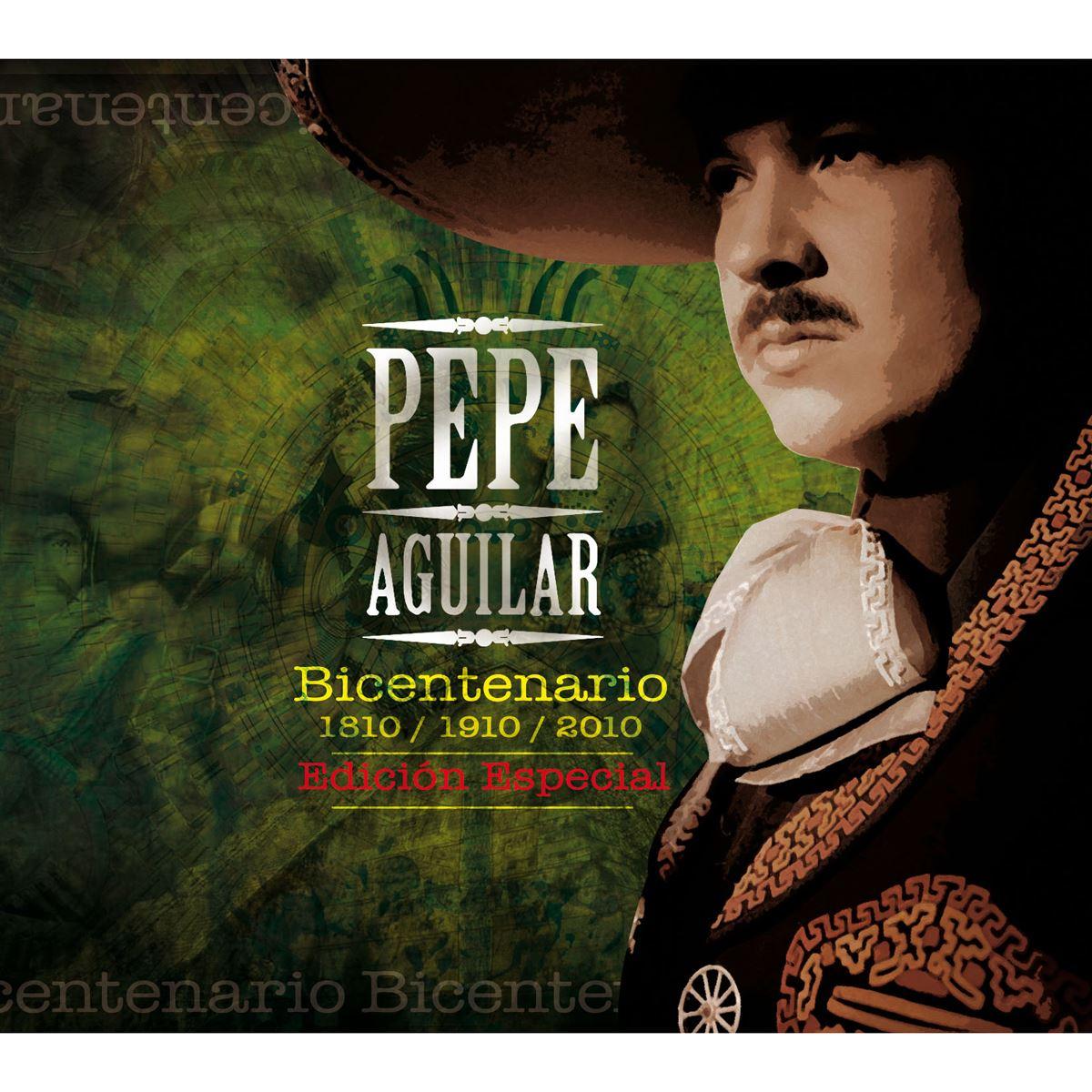 Cd pepe aguilar-bicentenario edición especial  - Sanborns