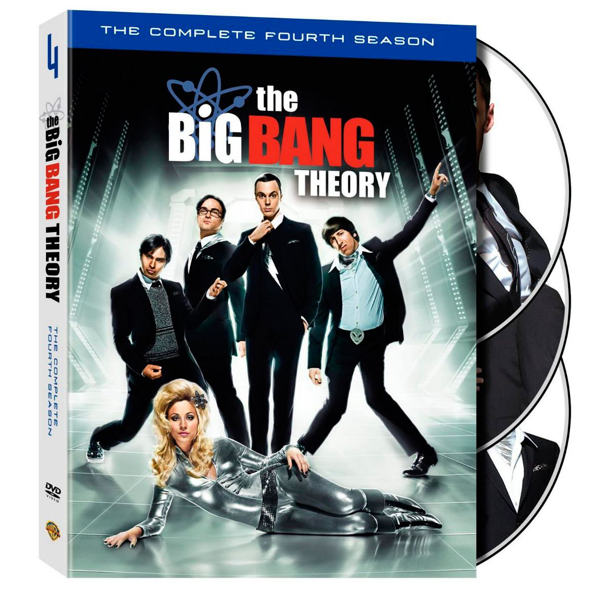 Dvd la teoría del big bang: temporada 4  - Sanborns