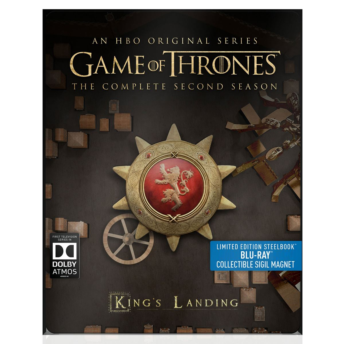 Steelbook Game Of Thrones Segunda Temporada