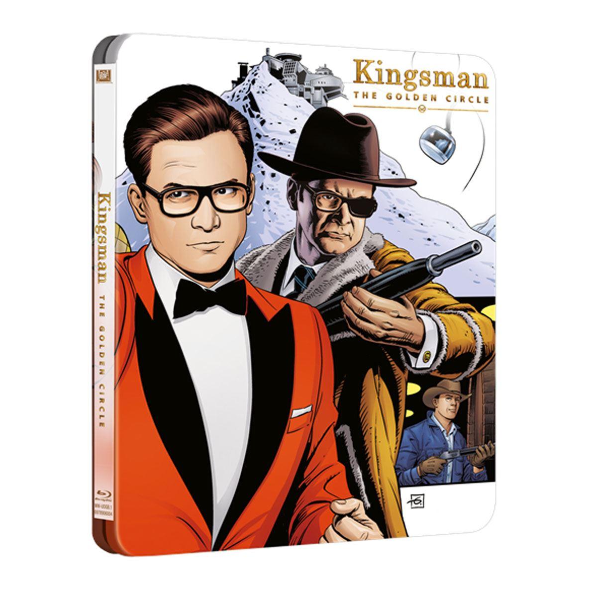 Br steelbook kingsman: el circulo dorado  - Sanborns