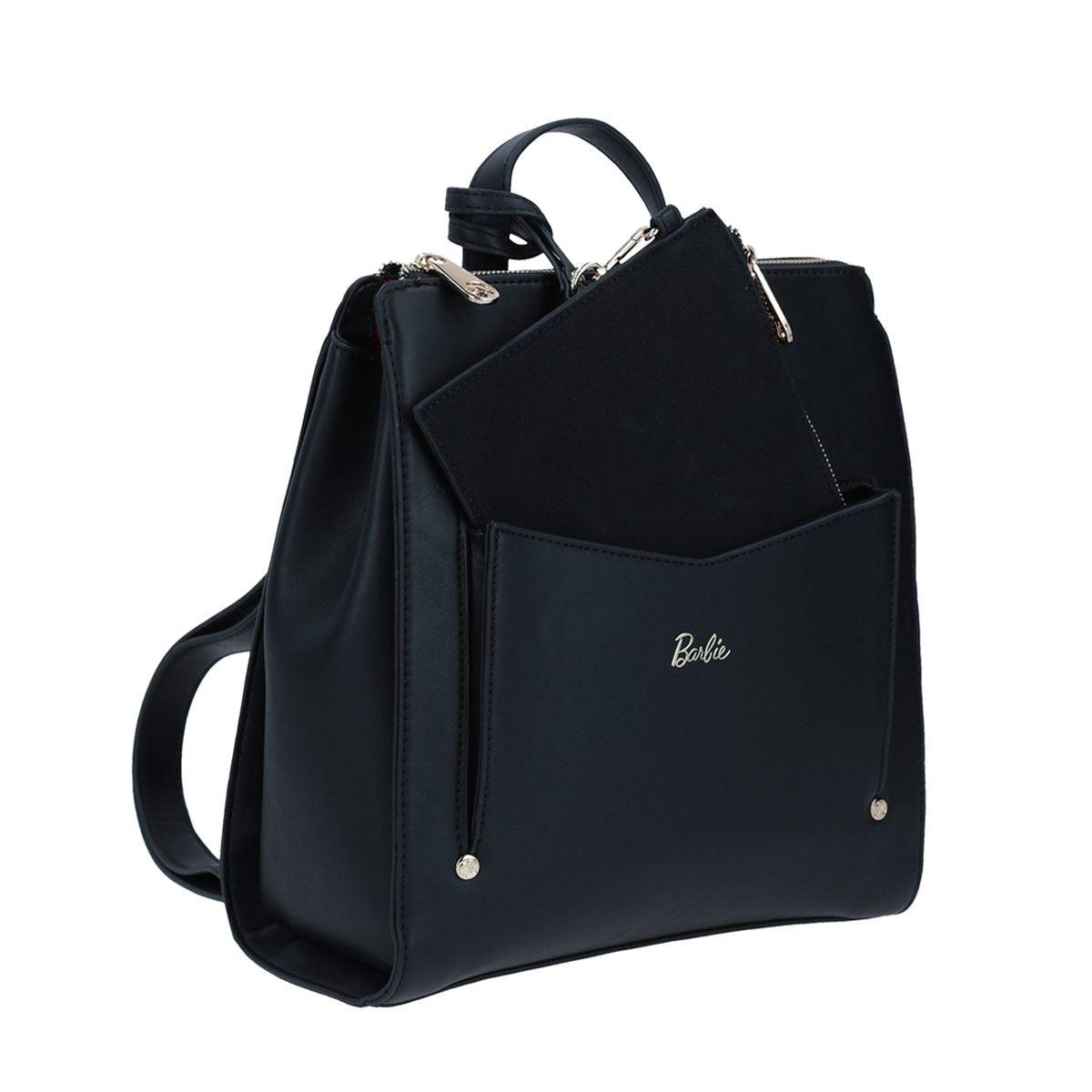 Mochila mediana Barbie X Gorett backpack mediana negro