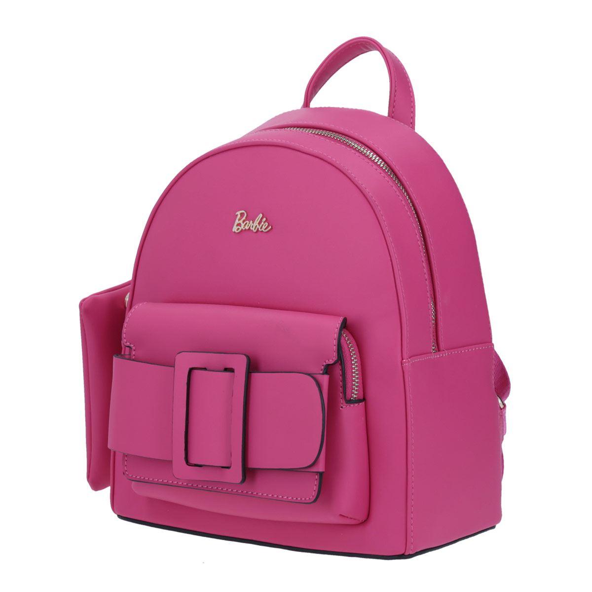Mochila de dama Barbie X Gorett backpack mediana rosa modelo GS20251-P
