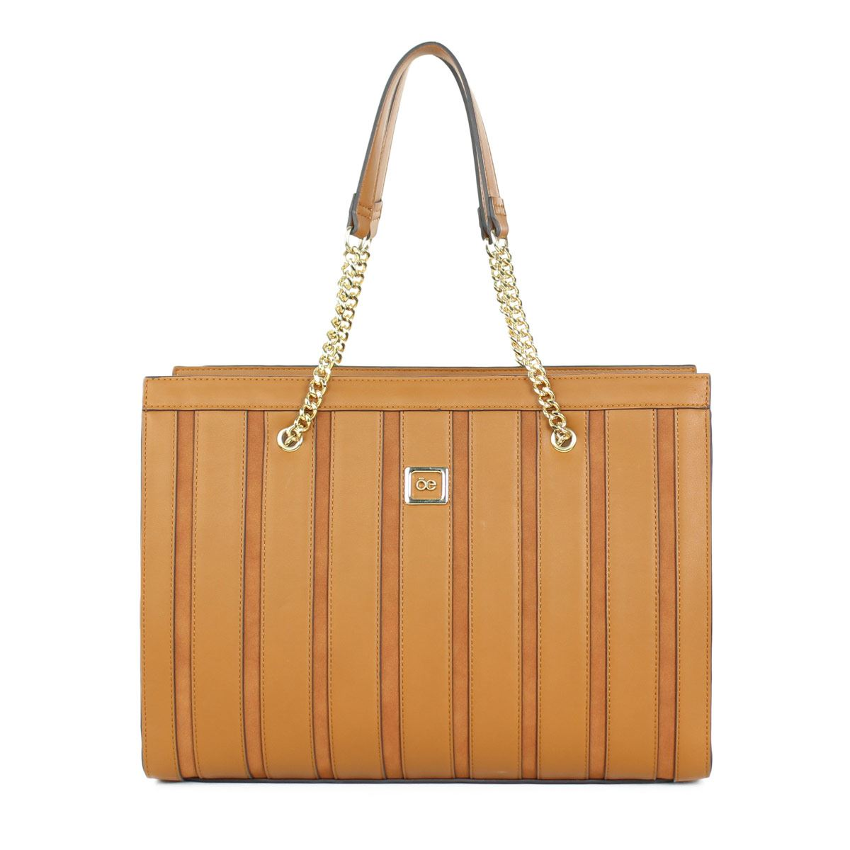 Bolso Cloe Satchel Tan