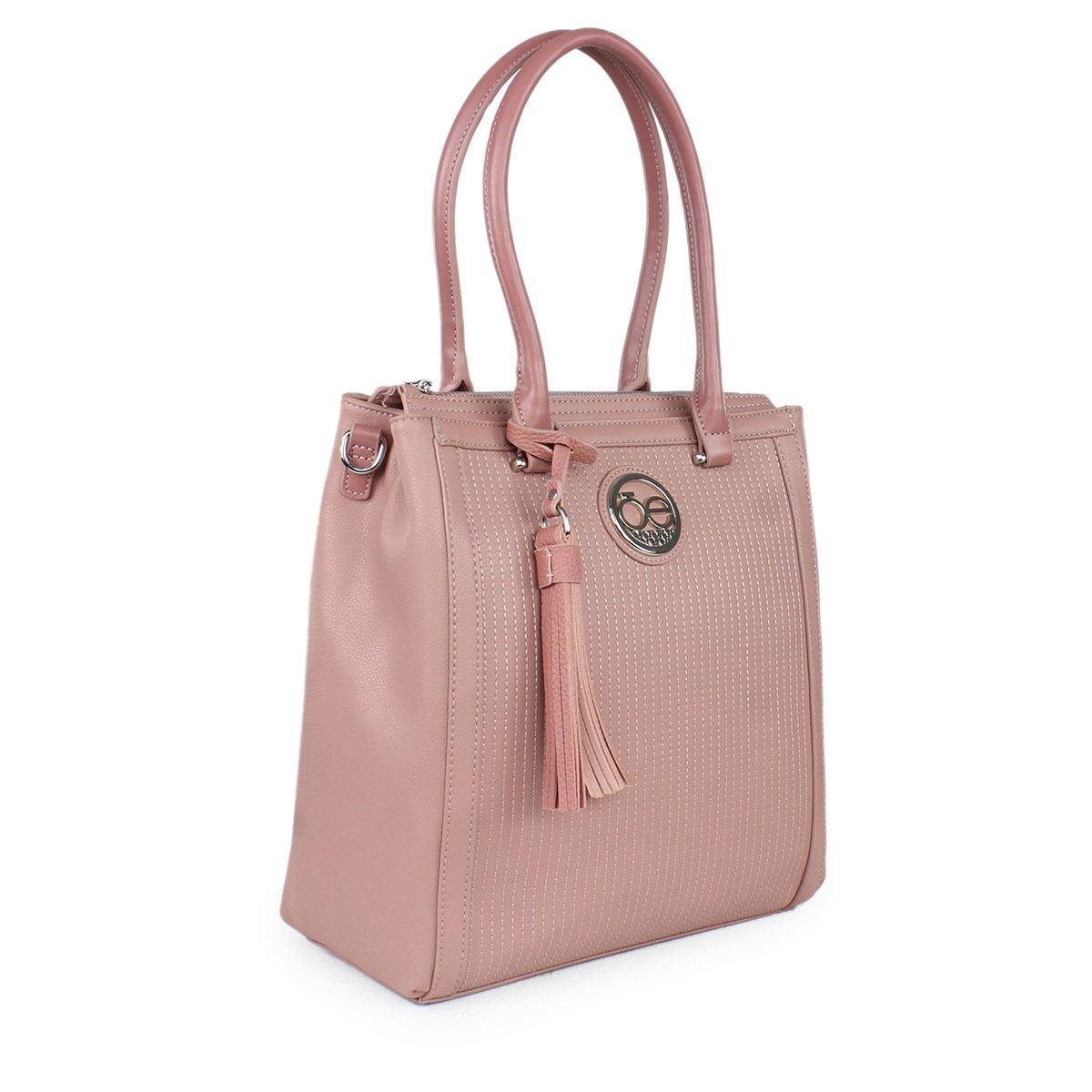 Bolso Cloe Satchel rosa