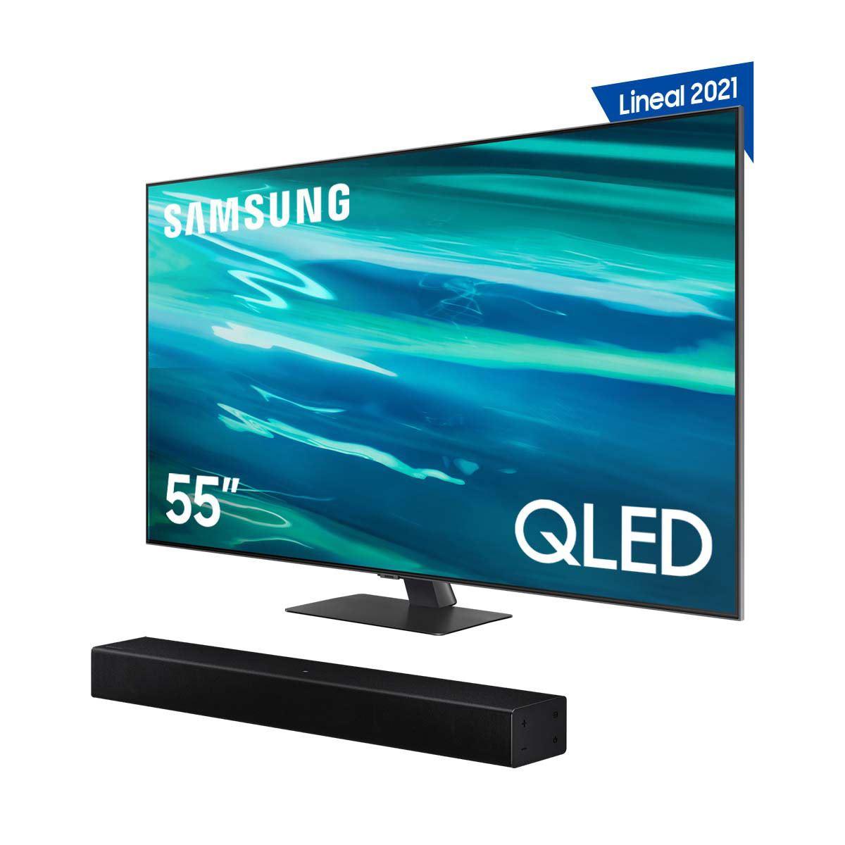Paquete Smart TV QLED Samsung 55