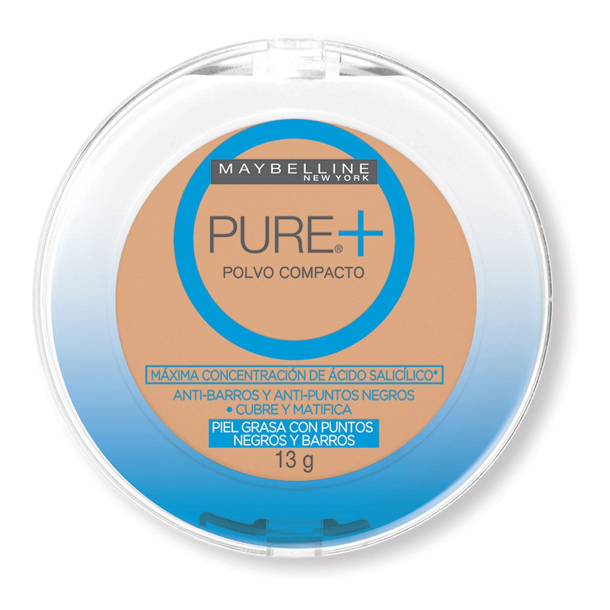 Maquillaje en Polvo Maybelline Pure Plus Arena Natural
