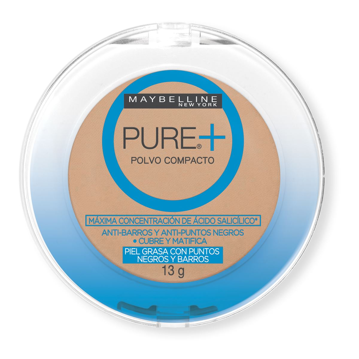 May Pure Make 2 Up Powder Dorado Cb