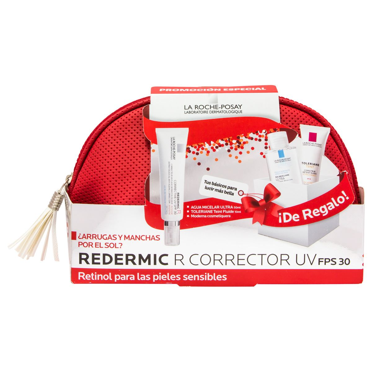 Pack Redermic R Corrector Uv Fps 30 para Pieles Sensibles