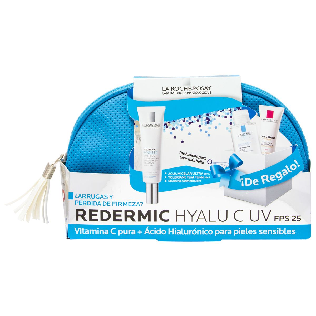 Pack redermic hyalu c uv fps 25 - con vitamina c + acido hyaluronico para pieles sensibles  - Sanborns