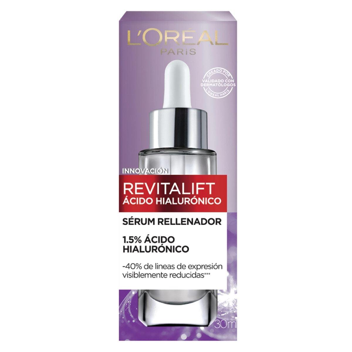 Serum facial anti arrugas Ácido Hialurónico Revitalift L'Oréal Paris