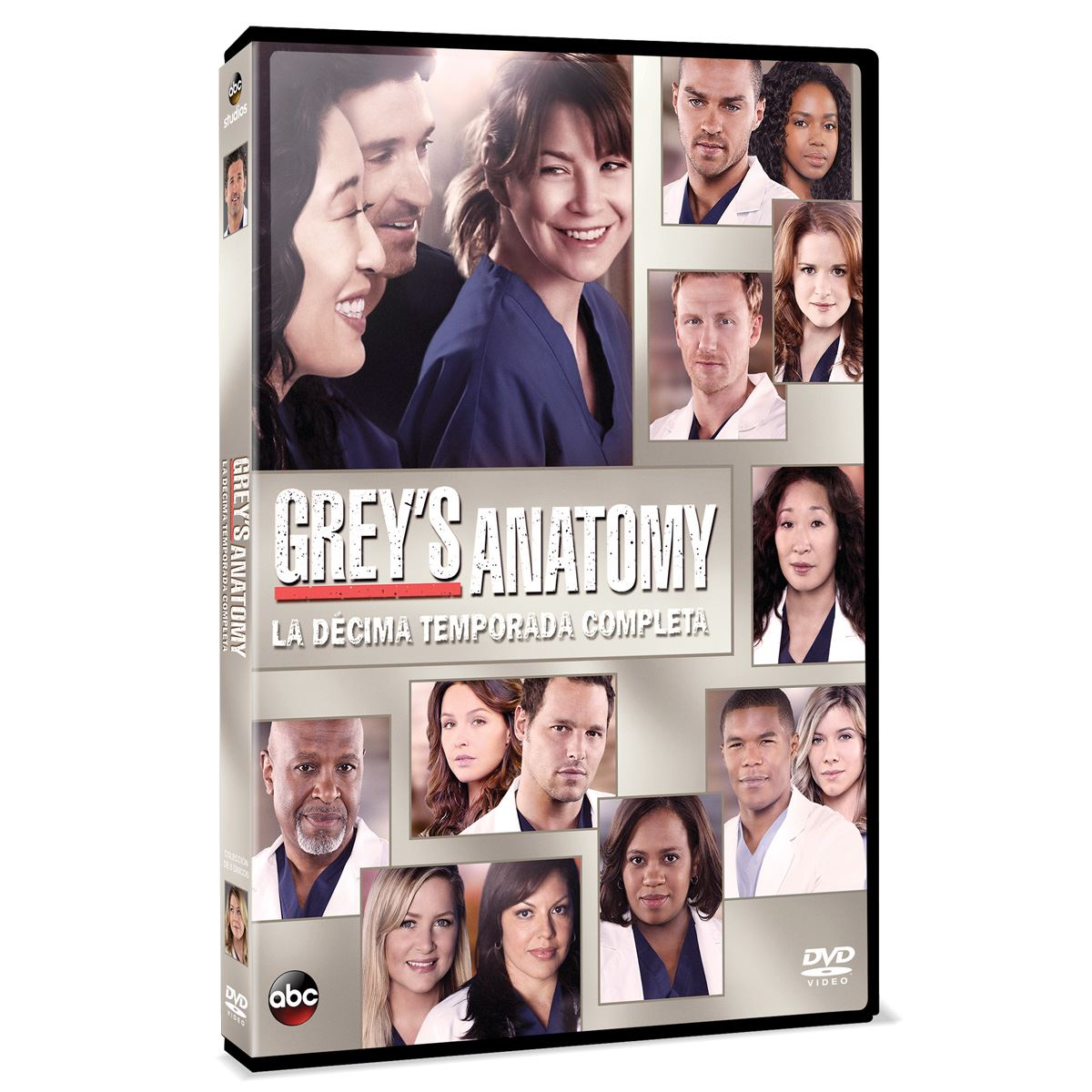 Dvd grey´s anatomy: temporada 10  - Sanborns