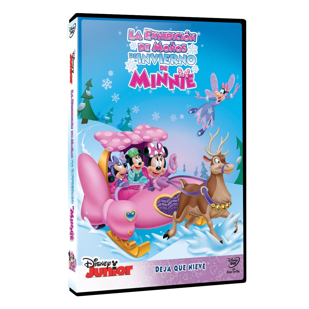 Dvd mickey mouse club house: minnie´s winter bow show  - Sanborns