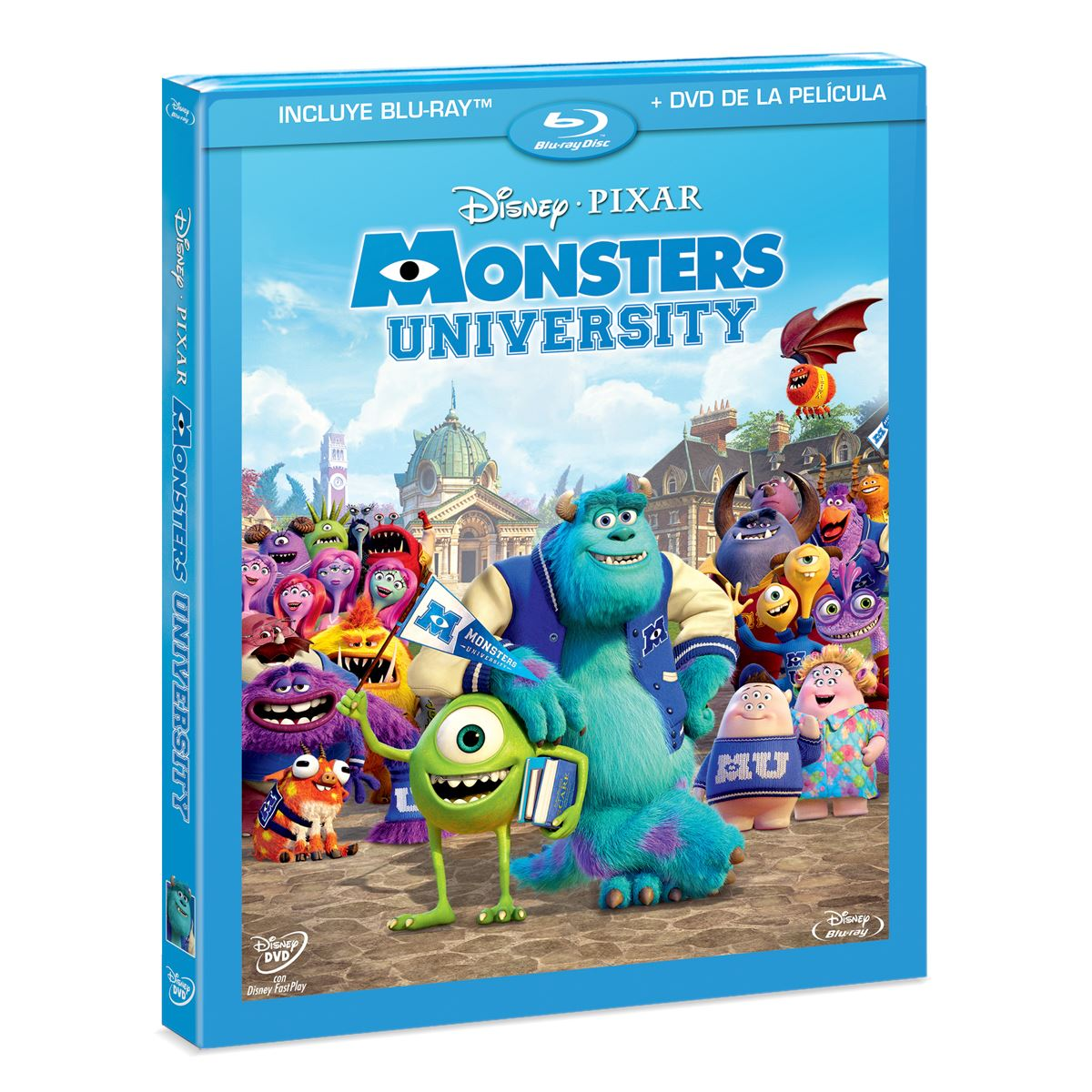 BR/DVD Monsters University Hibrido