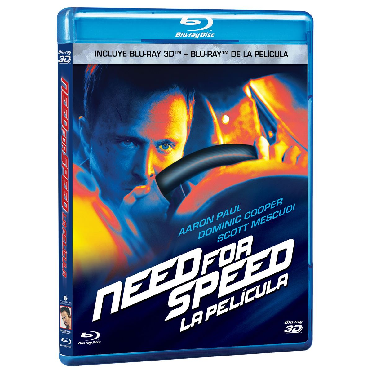 Br/3d need for speed la película combo pack  - Sanborns