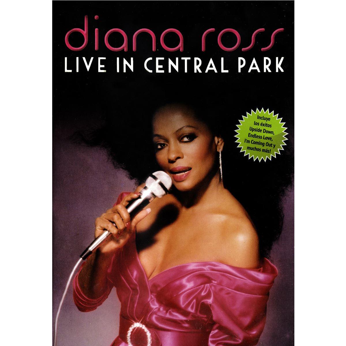 DVD Diana Ross-Live In Central Park