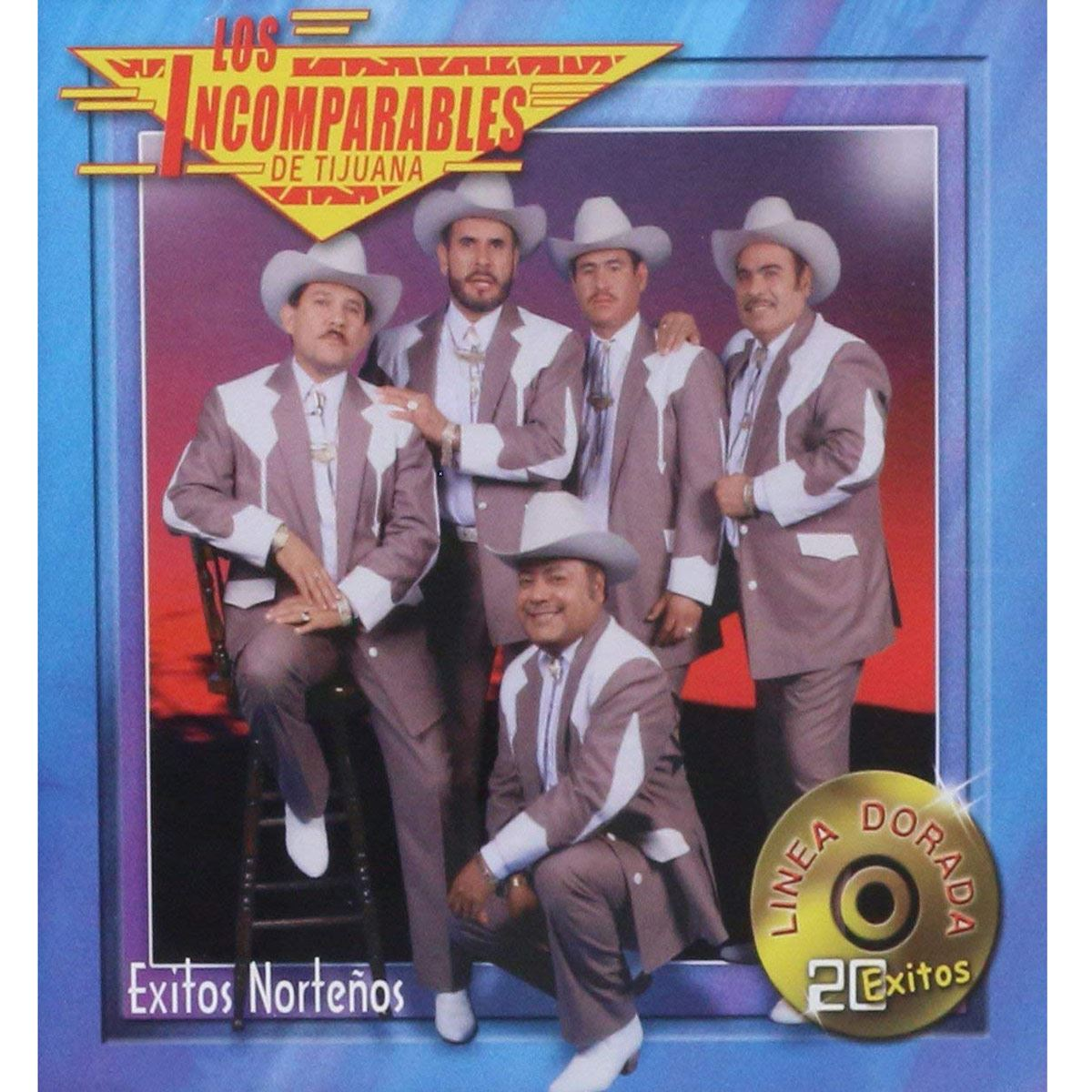 CD Los Incomparable De Tijuana- Linea Dorada-Éxitos Norteños