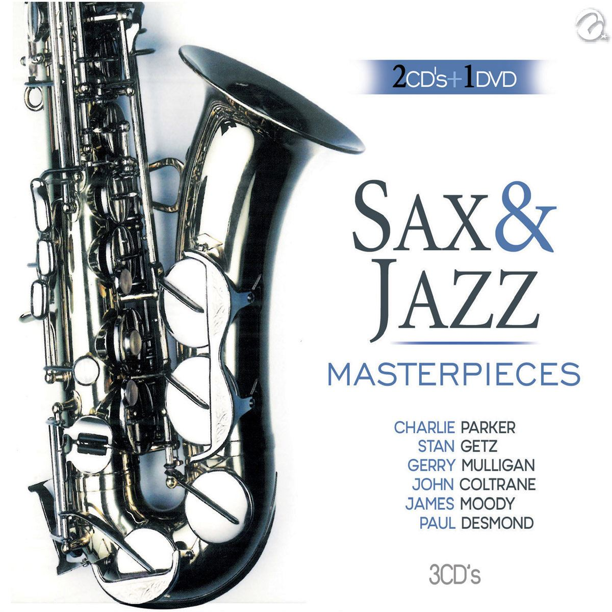 3cd sax & jazz masterpieces  - Sanborns