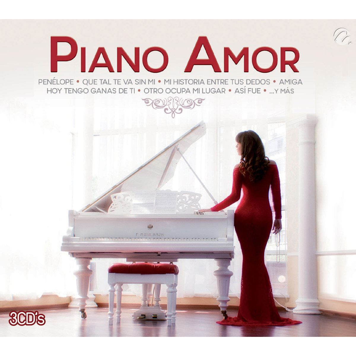 CD3 Piano Amor Benjamiin Rojas Piano