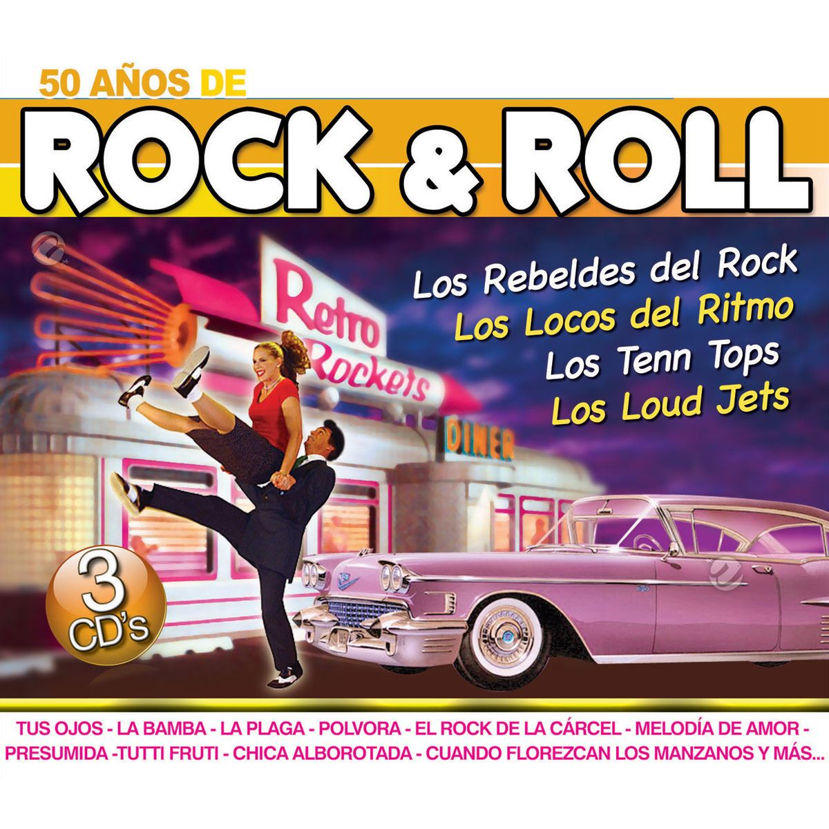 CD3 50 Años de Rock & Roll