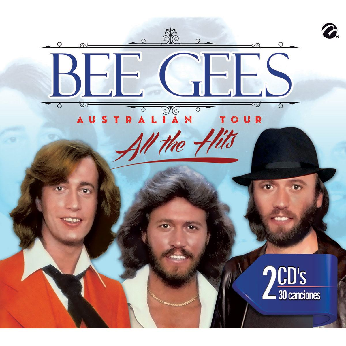 CD2 Bee Gees- Bee Gees Australian Tour All The Hits