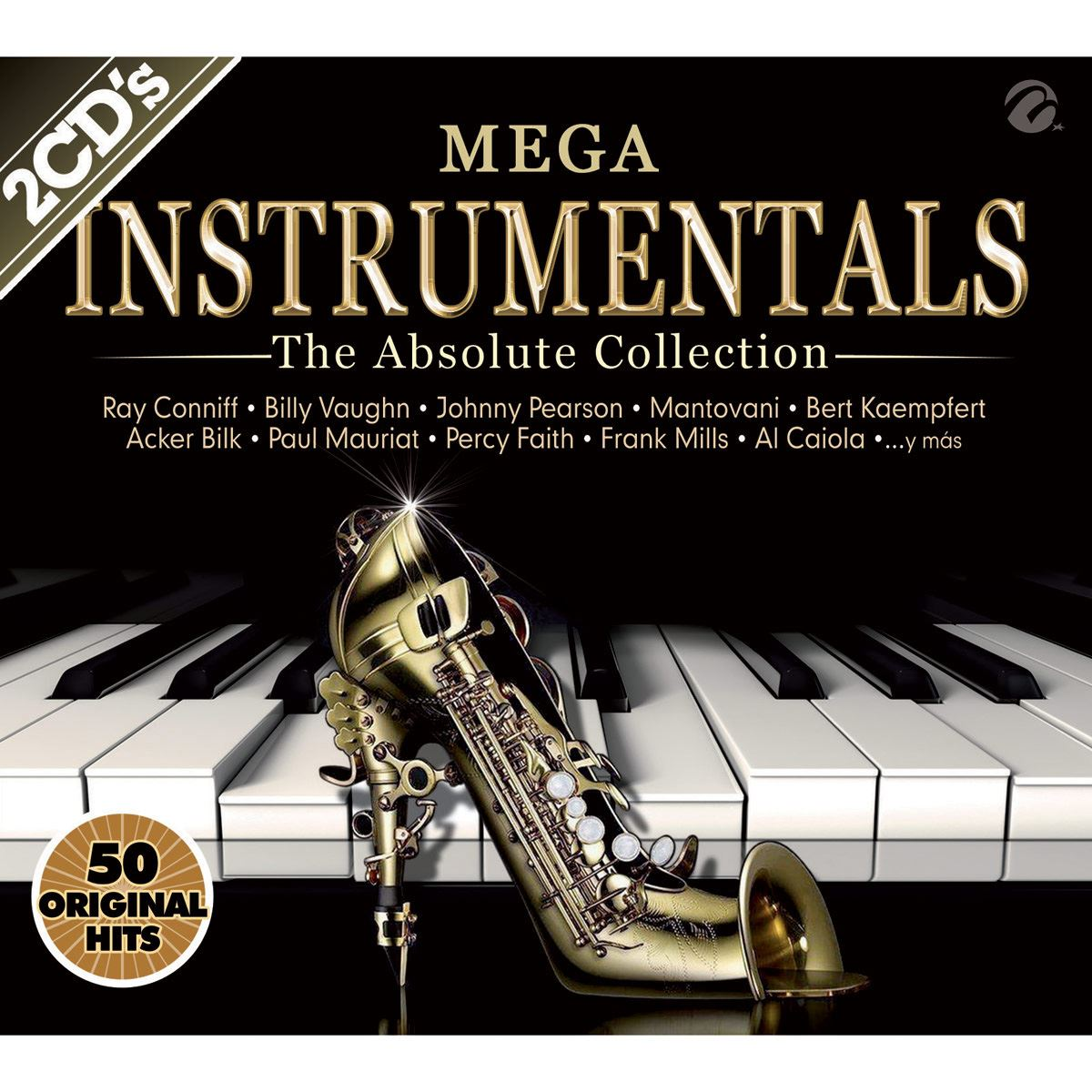 CD2 Mega Instrumentales The Absolute Collection 50 Original Hits
