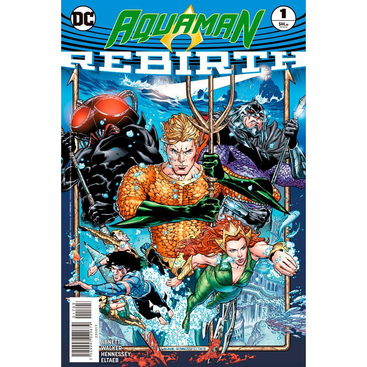 Dc comics aquaman especial Libro - Sanborns
